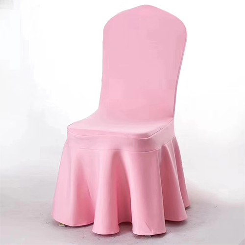 pink chair cover