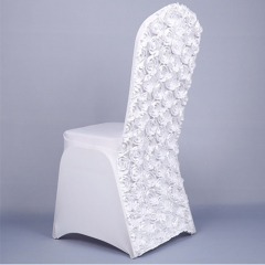 wedding rose chair cover in FEIBIXUAN