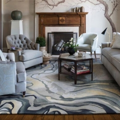 hand-tufted carpet