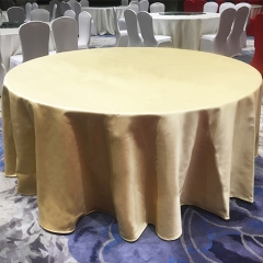 Double sides different color satin table cloth in FEIBIXUAN
