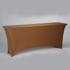 Oblong IBM spandex table cover in FeiBi Xuan