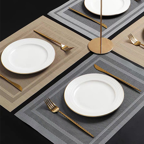 PVC Table Placemats in FEIBIXUAN