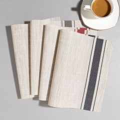 PVC Stripes Placemat in FEIBIXUAN