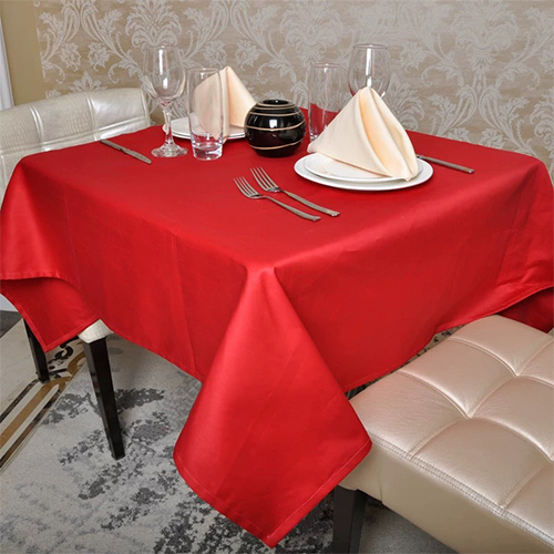 spun polyester table cloth in Feibixuan
