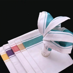 stripe cotton glass napkin FEIBIXUAN