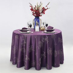 latest banquet table cloth in FEIBIXUAN