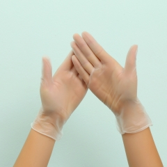 disposable vinyl nitrile disposable protective hand gloves