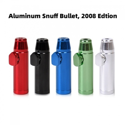 Aluminum Snuff Bullet 2008 Edition,Five colors available