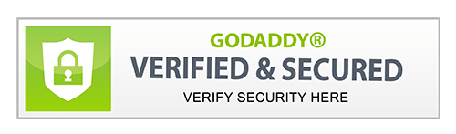 GODADDY VERIFIED & SECURED
