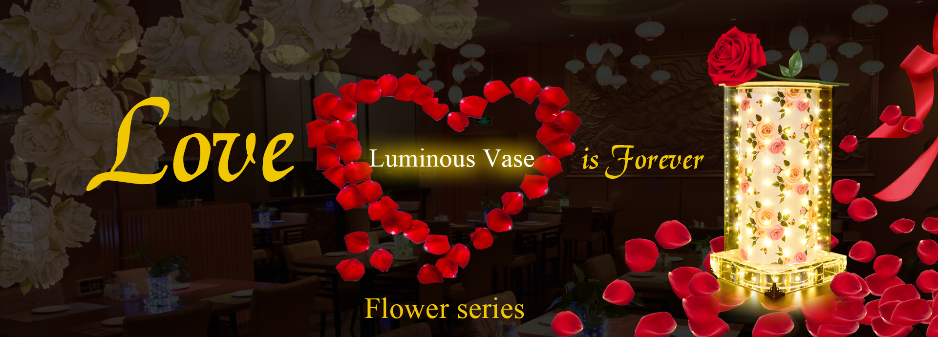 luminous vase