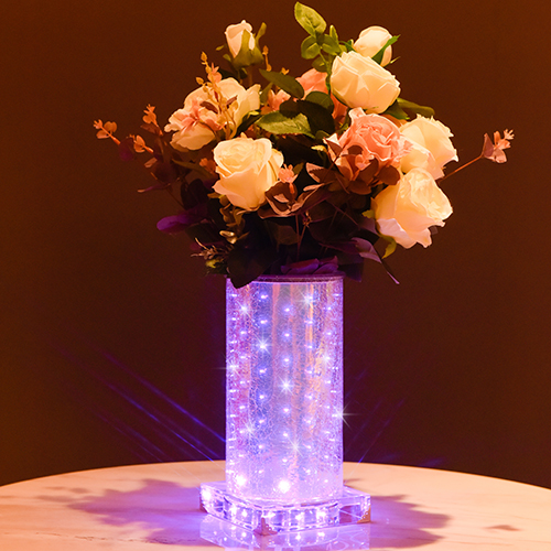 Purple luminous vase~Romantic (High Round)