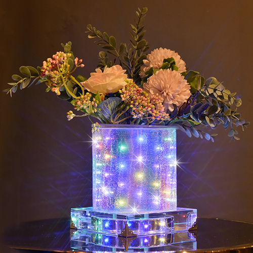 Colorful luminous vase~Celebration  (Short Round)