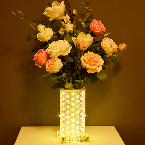 Warmish luminous vase~Warmth (High Round)