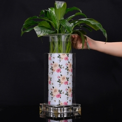 Warmish Rose luminous vase(High Round )