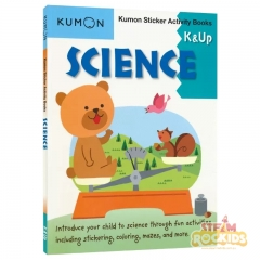 Kumon - Science Sticker Activity Book K and Up