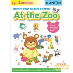 Kumon - At the Zoo Step-By-Step Stickers