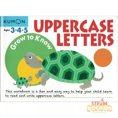 Kumon - Grow to Know Uppercase Letters