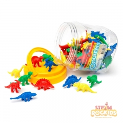 Dinosaur Counters Jar