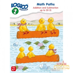 Logico Piccolo - Math Paths Addition and Subtraction Up to 20 Level 1 (Age 6+)