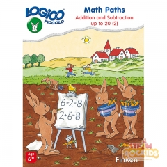 Logico Piccolo - Math Paths Addition and Subtraction Up to 20 Level 2 (Age 6+)