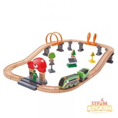 Hape - Solar Powered Circuit (37 Pieces)