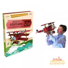 Sassi - Travel Learn and Explore (Build a 3D Airplane)