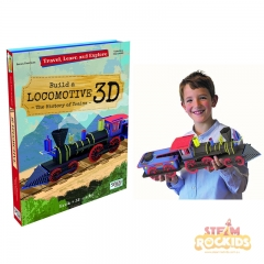 Sassi - Travel Learn and Explore (Build a 3D Locomotive)
