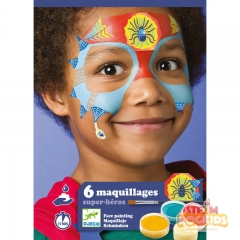 Djeco - Face Paint Set (Super Heroes)