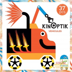 Djeco - Wacky Vehicles Kinoptik Construction Set