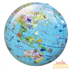 Tiger Tribe - 30cm World Globe (Animal)