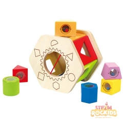 Hape - Shake and Match Shape Sorter