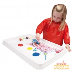 White Activity Tray