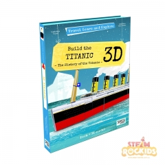 Sassi Travel Learn and Explore Book and 3D Model (Titanic)