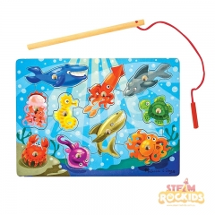 Melissa N Dough Magnetic Fishing Game