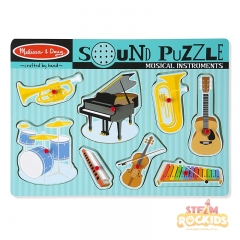 Melissa N Dough Musical Instruments Sound Puzzle