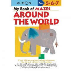Kumon My Book of Mazes (Around the World)