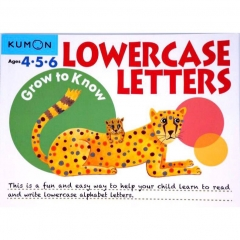 Kumon Grow to Know Lowercase Letters