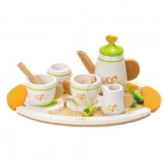 Hape Tea Set for Two (12 Pieces)