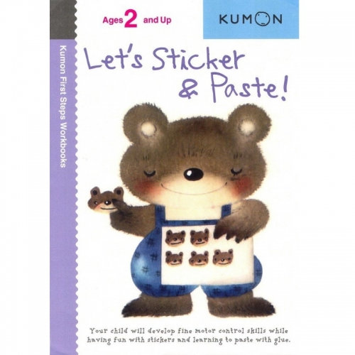 Kumon Lets Sticker and Paste