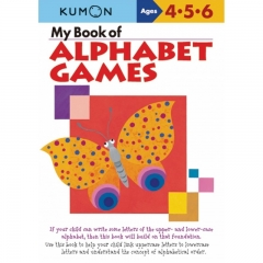 Kumon My Book of Alphabet Games