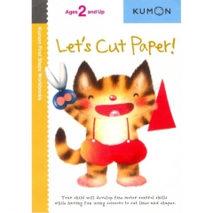 Kumon Lets Cut Paper