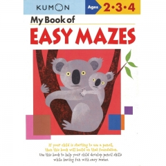 Kumon My Book of Easy Mazes