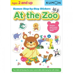 Kumon At the Zoo Step-By-Step Stickers