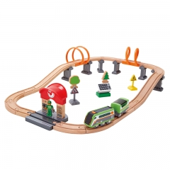 Hape Solar Powered Circuit (37 Pieces)