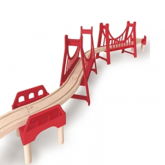 Hape Extended Double Suspension Bridge