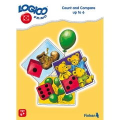 Logico Primo Count and Compare up to 6 (Age 4+)