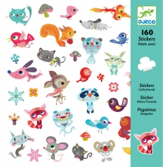 Djeco - Stickers (Small Friends)