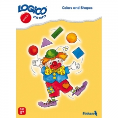 Logico Primo - Colours and Shapes (Age 3+)
