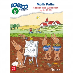 Logico Piccolo Math Paths Addition and Subtraction Up to 20 Level 2 (Age 6+)