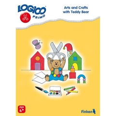 Logico Primo Arts and Crafts with Teddy Bear (Age 4+)